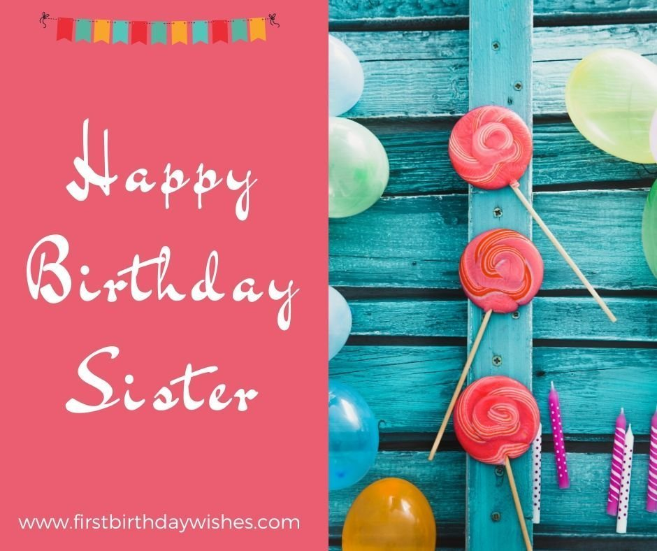Birthday Wishes for Sister Images