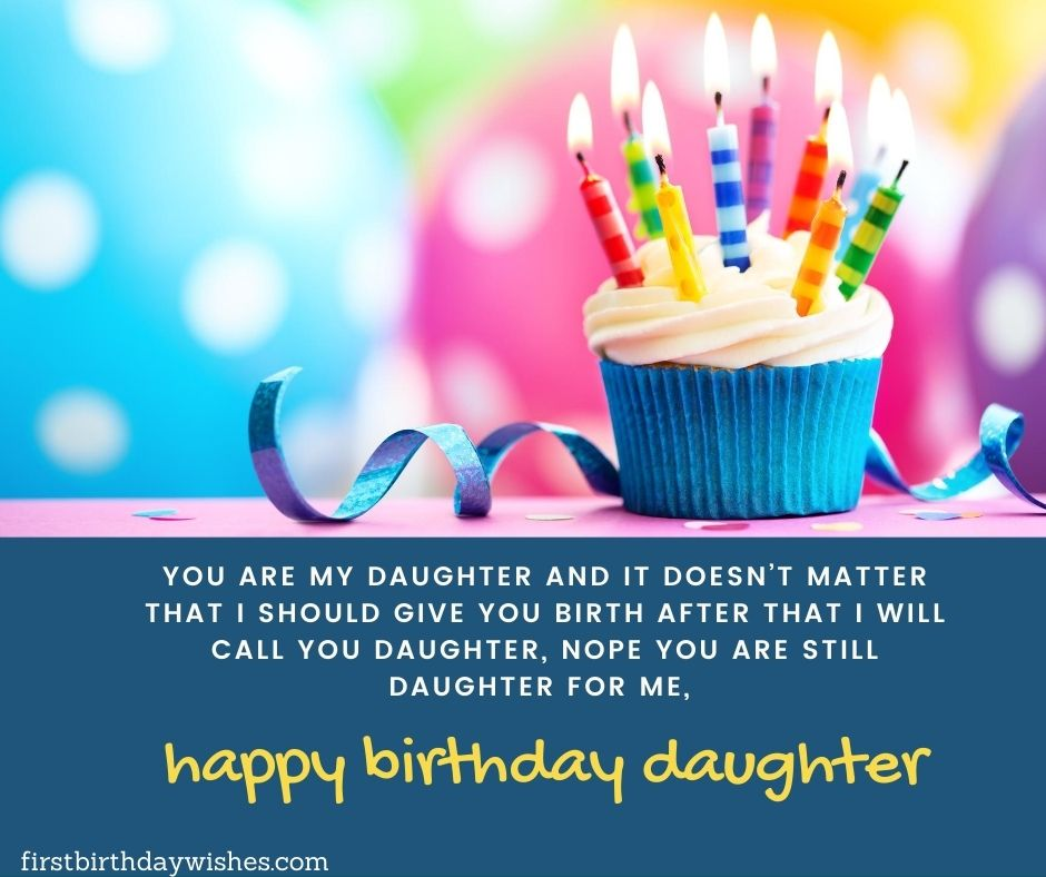 stepdaughter birthday wishes
