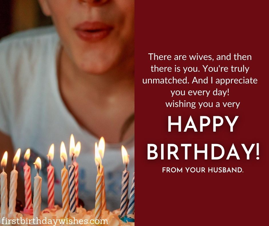 special Birthday Wishes For wife