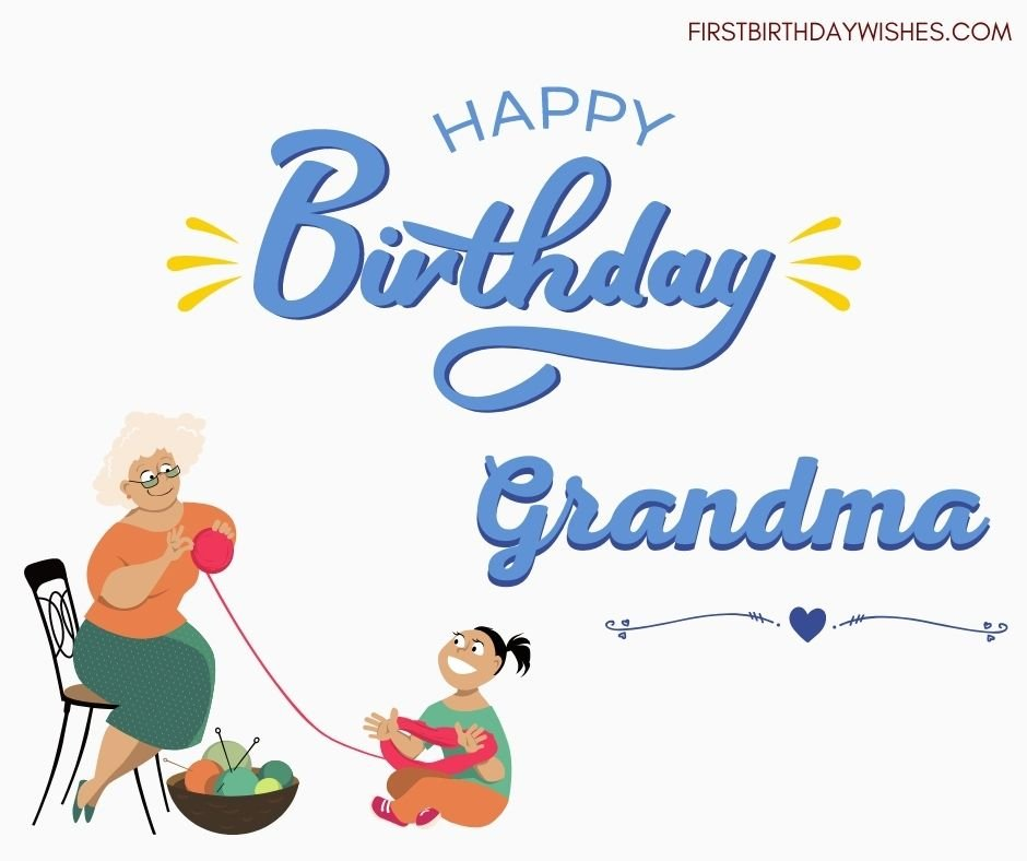 birthday wishes for Grandma