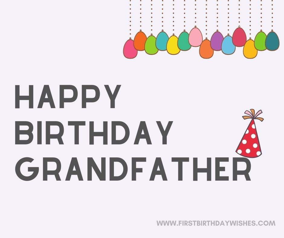 birthday message for grandfather