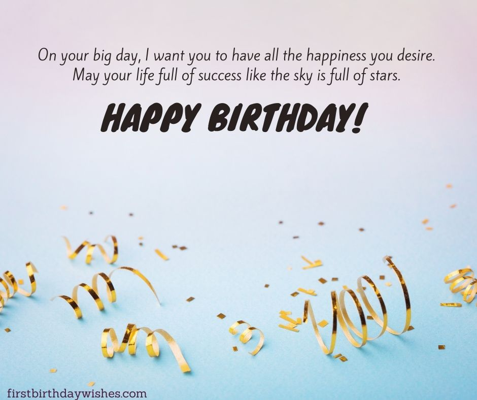 birthday messages for everyone