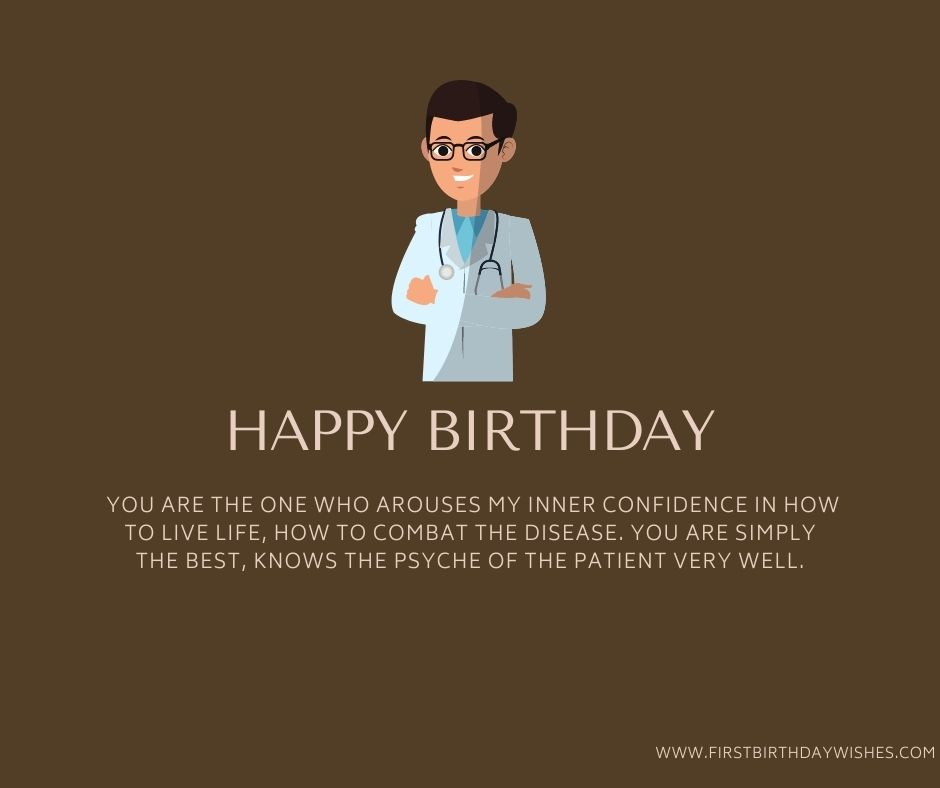 Happy Birthday Messages for Doctors