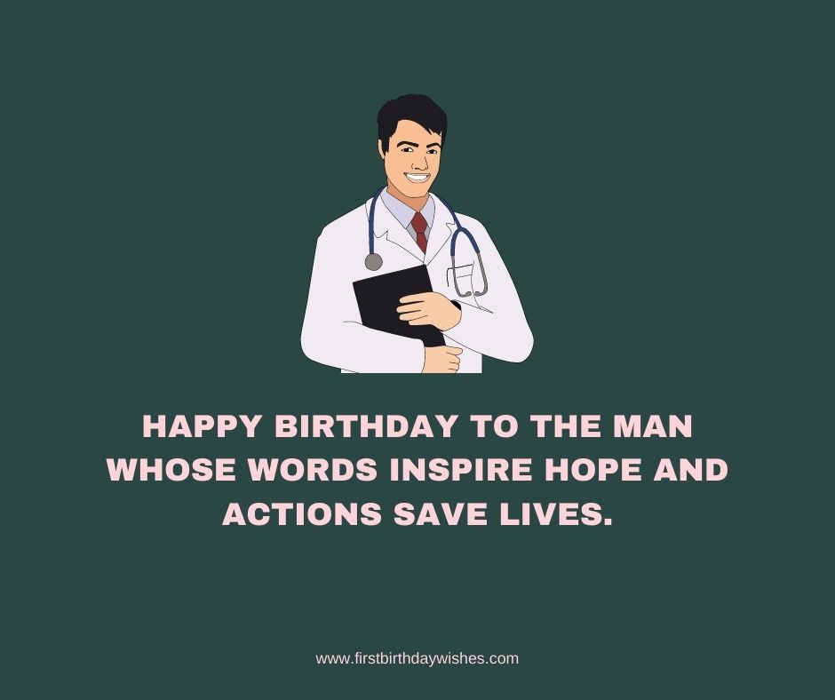 Special Birthday Wishes For Doctors