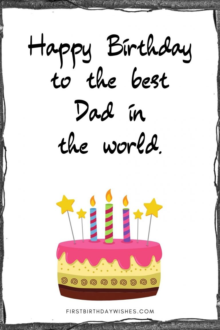 Happy Birthday Card For Father