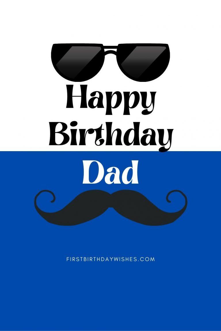 Happy Birthday Card For Dad