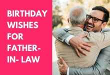 Birthday Wishes for Father-in- Law