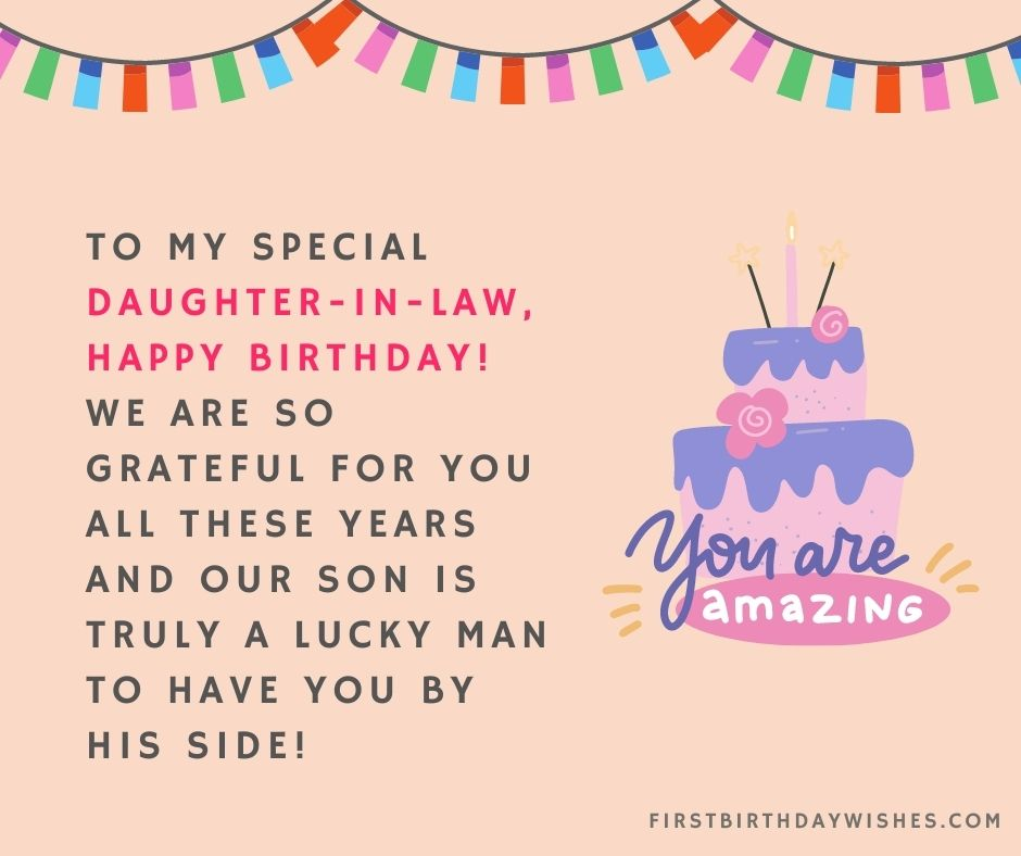 birthday wishes for daughter in law images