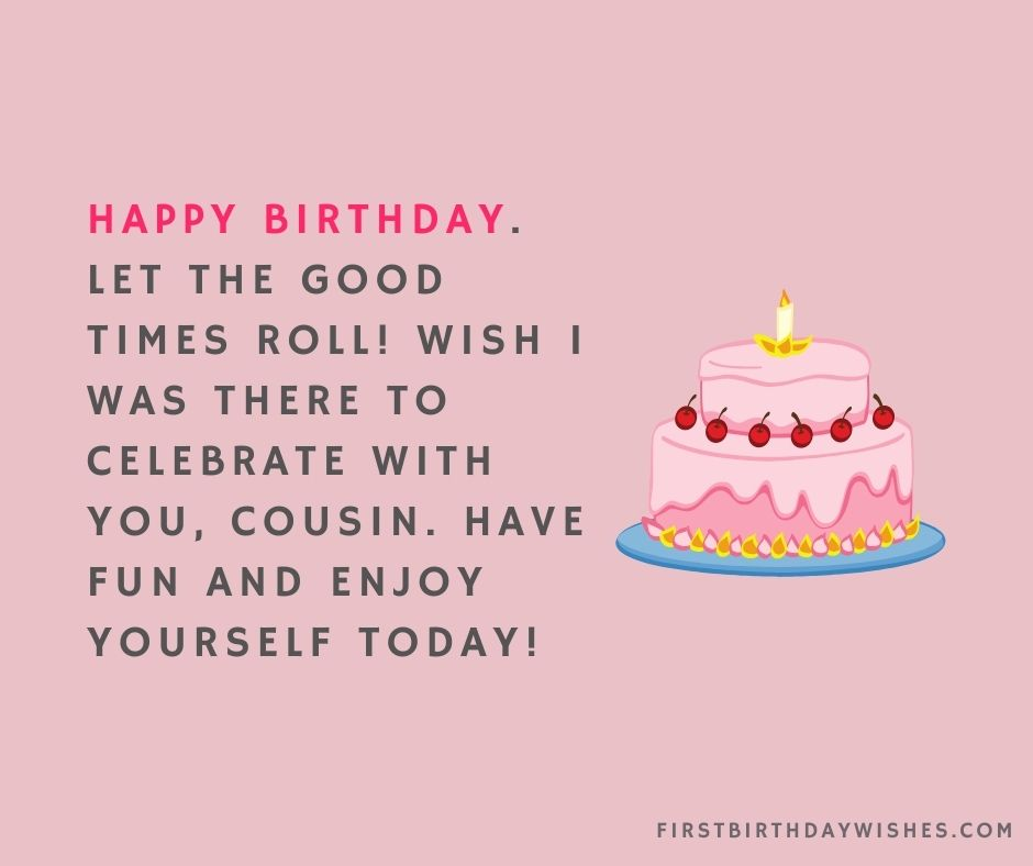 21st Birthday Wishes For Cousin Brother